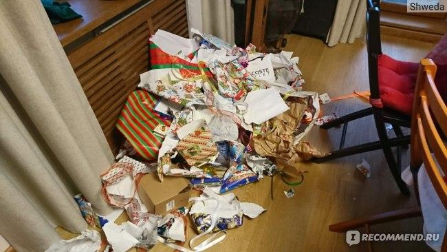 Когда даже мусор выглядит празднично