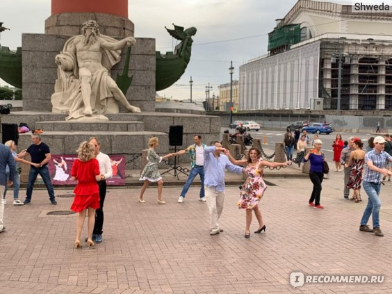 Танцы на Стрелке В.О.