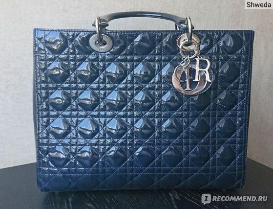 Легендарная сумка Lady Dior - отзыв