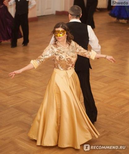 Красивое бальное платье с АлиЭкспресса