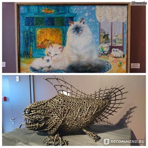 Экспонаты выставки в Артмузе