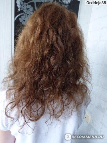 Состояние волос спустя 3 недели (естественная сушка волос)