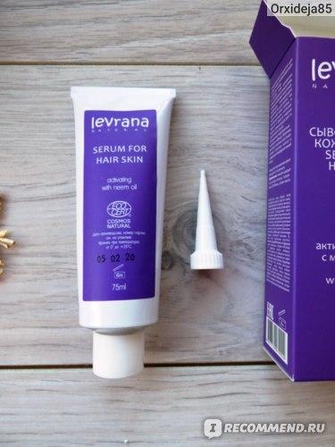Сыворотка для кожи головы Levrana Активизирующая с маслом нима: содержимое