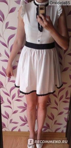 Платье на мне