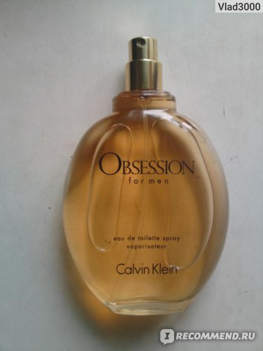 Calvin Klein Obsession for him фото