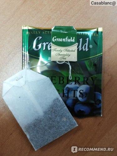 Чай Гринфилд (Greenfield) Blueberry nights (черника)
