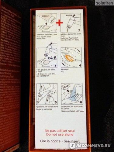 Как применять капли автозагар Clarins