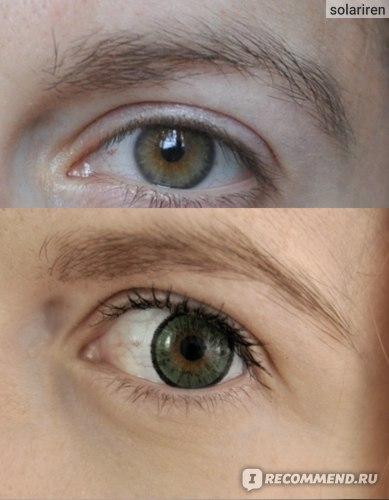 без линз и с Adria elegant green