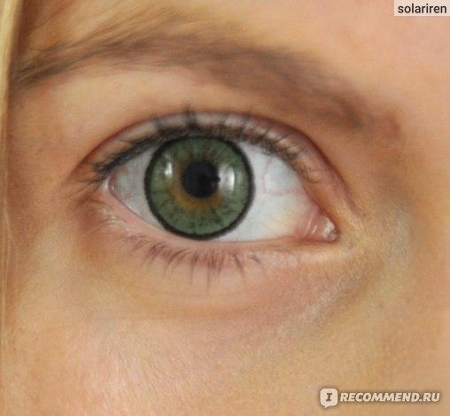 Adria elegant green - фото на зеленых глазах