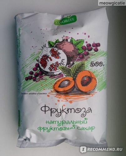 Фруктоза Favorite натуральный фруктовый сахар фото
