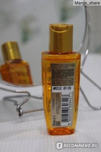 Масло для волос L'Oreal Paris Elseve Экстраординарное 6 масел редких цветов фото