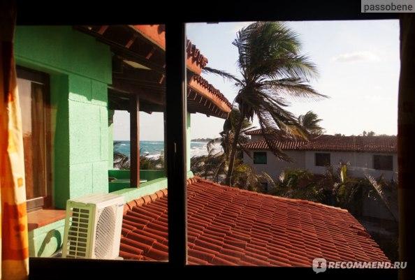 Вид из нашего отеля