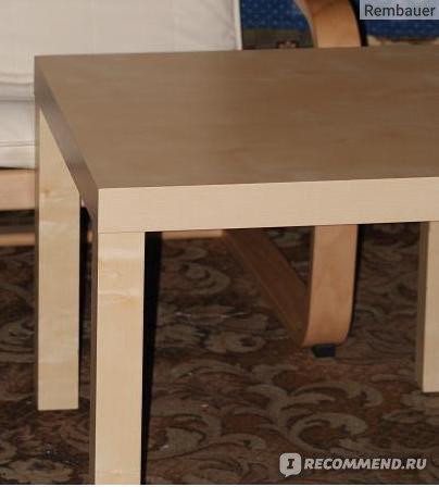 Придиванный столик Лакк IKEA фото