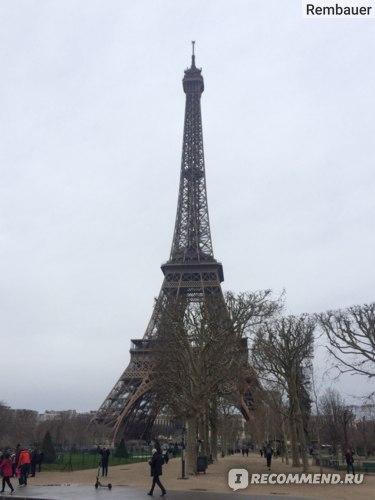 Франция, Париж, Эйфелева башня (La tour Eiffel) фото