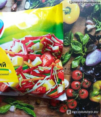 Овощная смесь 4 сезона Борщ МОСКОВСКИЙ (400 г) фото