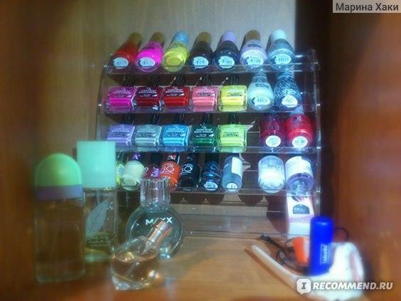 Подставка для лаков Planet nails 28*24 см (5 ярусов) фото