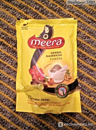 Сухой шампунь Meera Натуральный фото
