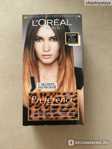 Краска для волос L'Oreal Paris PREFERENCE WILD OMBRES фото