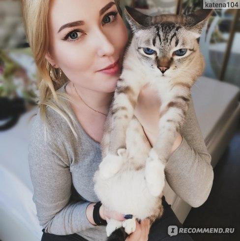 """на этом фото видно ВСЮ """"любовь"""" кота))"""