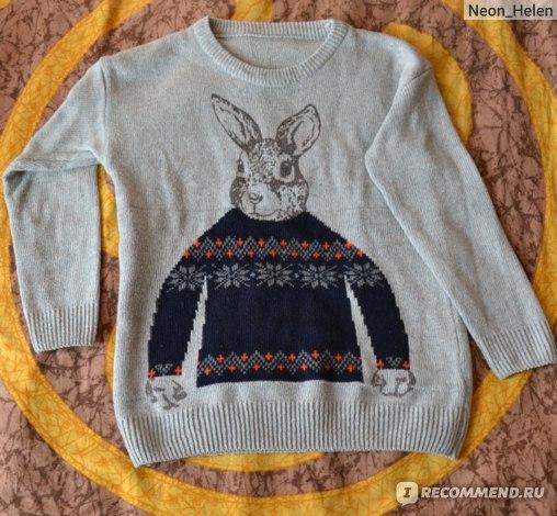 Пуловер AliExpress 2013 Fashion Women's Winter Thicken Sweaters Peter Rabbit Pullovers New Style Lady Casual Slim Knitwear Beige  фото