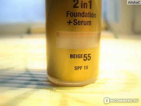 Тональный крем Max Factor AGELESS ELIXIR 2 в 1 Foundation+ Serum ( с защитной сывороткой) фото
