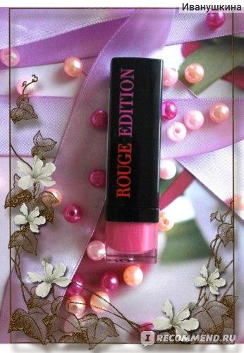 Губная помада Bourjois Rouge Edition фото