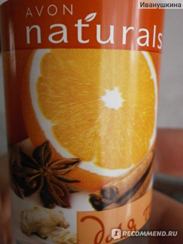 Спрей для тела Avon Пряный апельсин и имбирь.Питательный фото