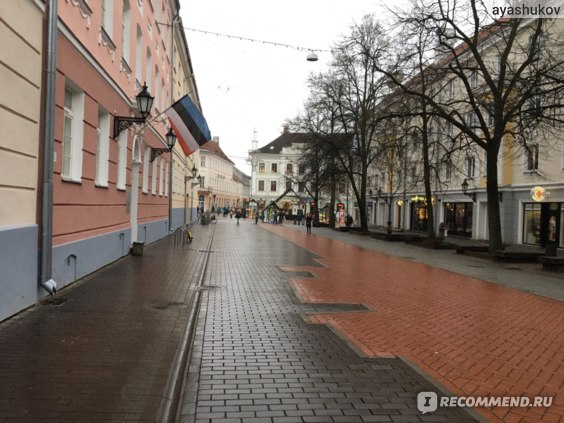 Улицы старого Тарту