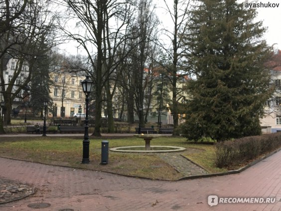 Парк недалеко от центра Тарту