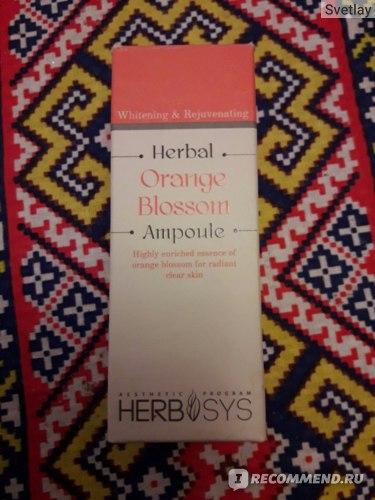 Сыворотка для лица Mizon Herbal Orange Blossom Ampoule фото