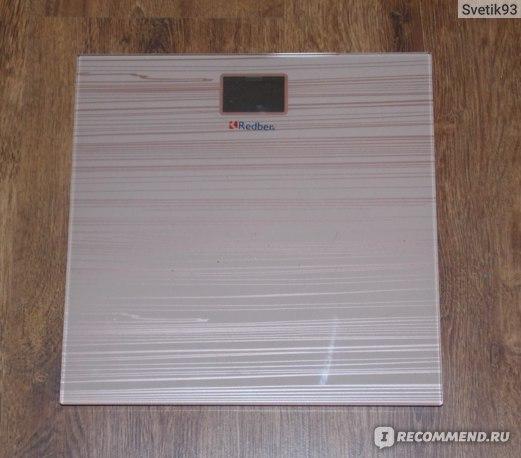 Весы напольные Redber ESB-008 фото