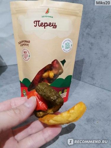 """Здоровый перекус Зеленика """"Перчик"""" фото"""