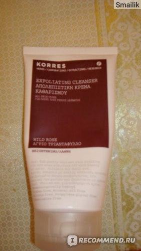 Очищающее средство Korres Exfoliating Cleanser фото