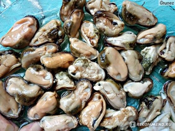 Морепродукты Балтийский берег Коктейль из морепродуктов в масле фото