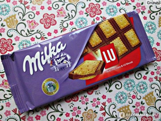 Шоколад Milka LU фото