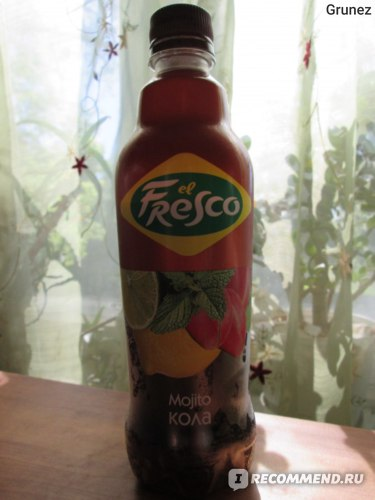 Напиток безалкогольный сильногазированный El Fresco Мохито Кола (Mojito КОЛА) фото