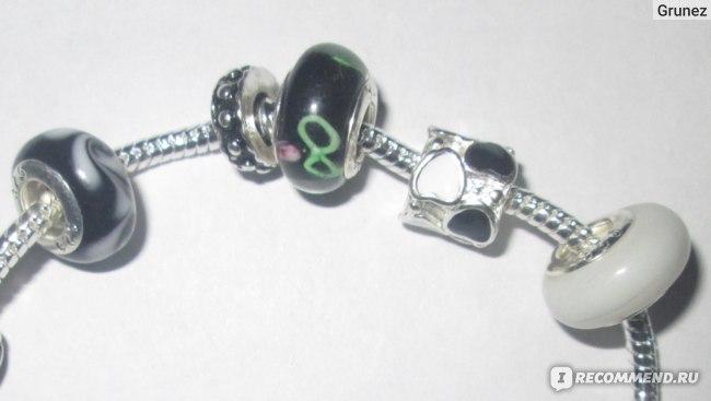 Браслет Aliexpress Bracelet Style Pandora with charms  фото