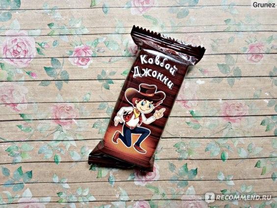 Вафельная конфета Невский кондитер Белинский Ковбой Джонни фото
