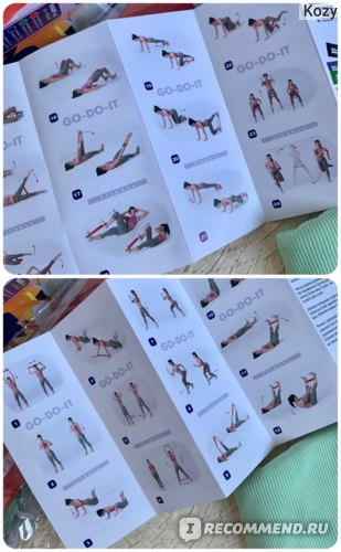 GO-DO-IT / Набор из 4 эспандеров - резинки для фитнеса, пилатеса, йоги STANDARD+бесплатная видео тренировка Отзывы
