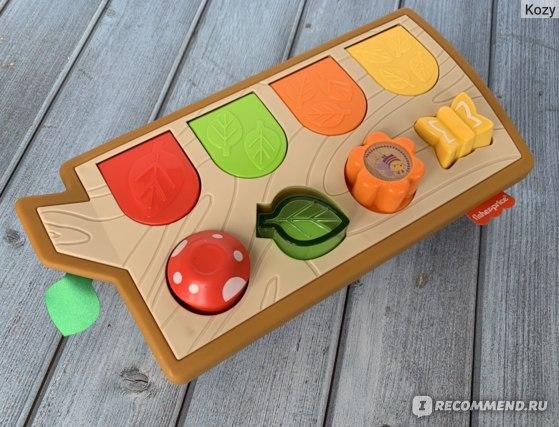 Развивающая игрушка Fisher-Price Прятки со зверятами (GJW24)