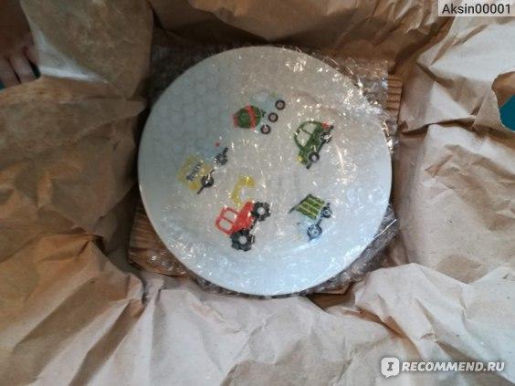 Тарелка Сотвори Чудо глубокая Машинки Sans Brides фото