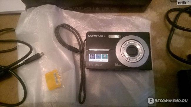 Olympus FE-360 фото
