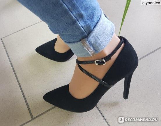 Туфли на высоком каблуке T.Taccardi Черные артикул 00807500 фото