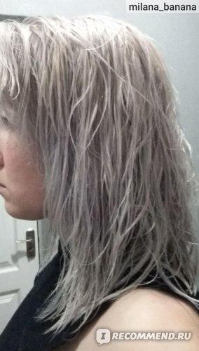 Результат После GARNIER 111 на мокрых волосах