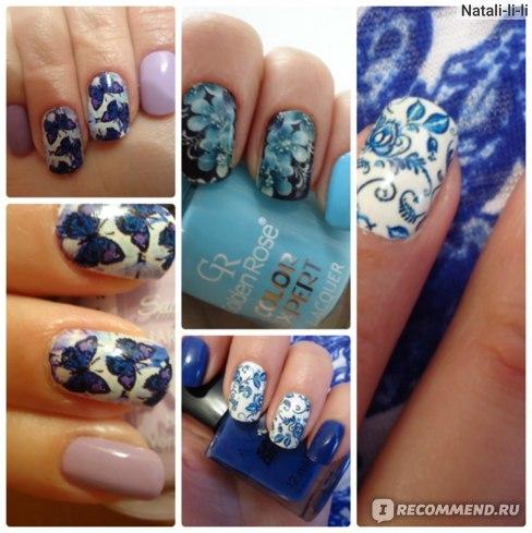 """Наклейки для ногтей   """"Черная пантера"""" Слайдер-дизайн фото"""