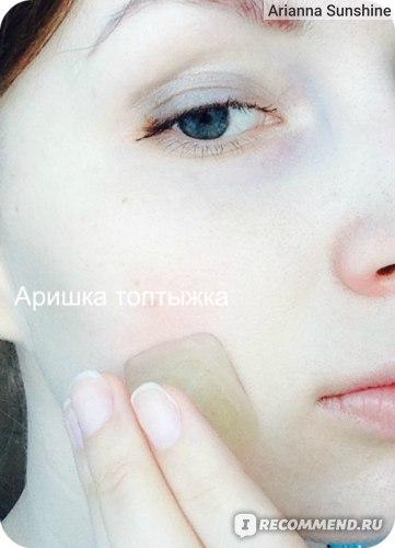 протирание лица настоем ромашки в ледяных кубиках