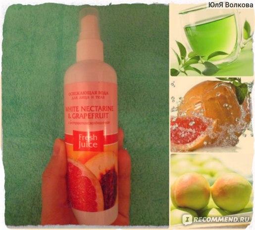 Спрей для тела Fresh Juice освежающая вода  фото