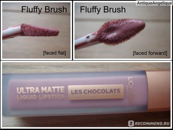 L'Oreal Ultra Matte Liquid Lipstick / LES CHOCOLATES / 842 / Candy Man