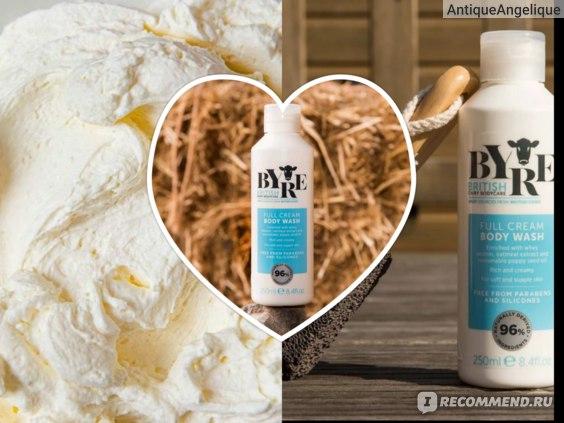 Byre British Dairy Bodycare Full Cream Wash