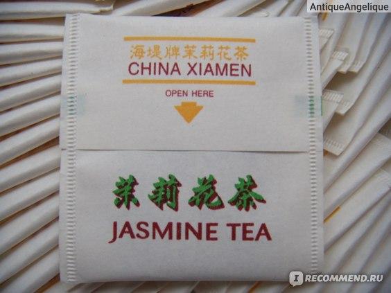 Sea Dyke Brand Xiamen Tea Imp. & Exp. Co. Jasmine (Art. No. XJT 501)